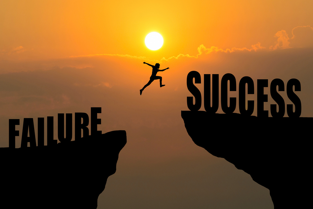 How we can use failure to help us achieve success
