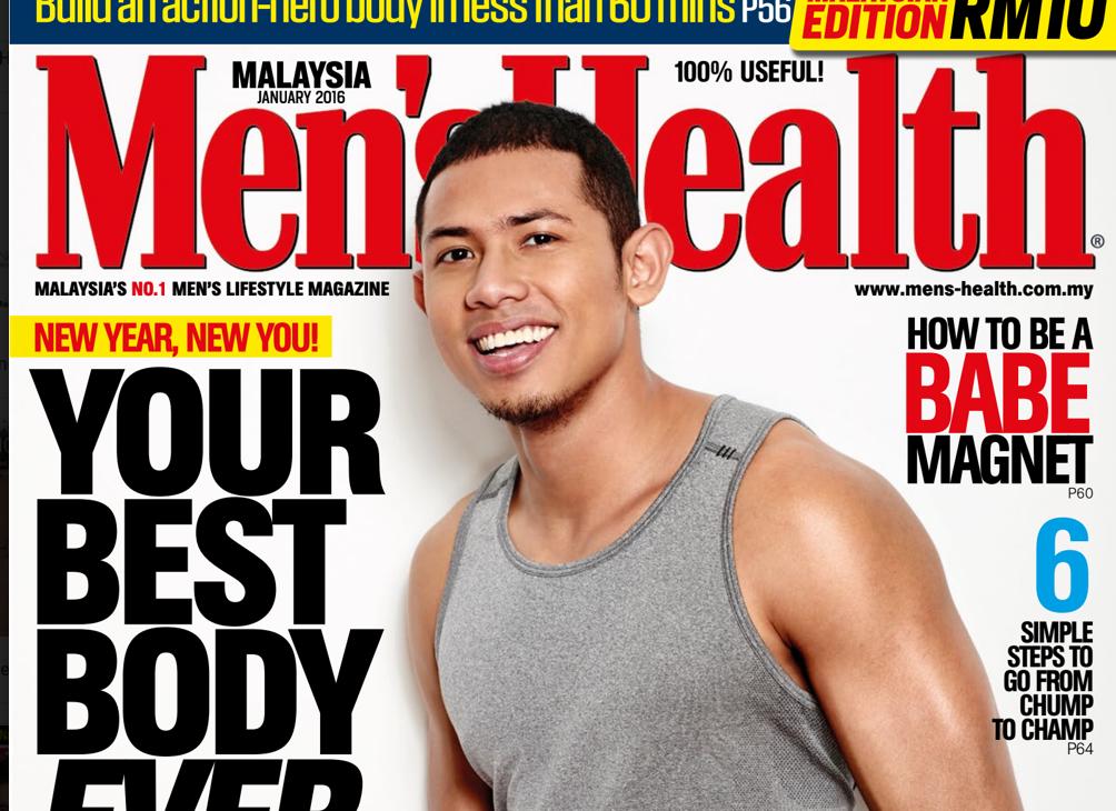 Koleksi Majalah Men's Health